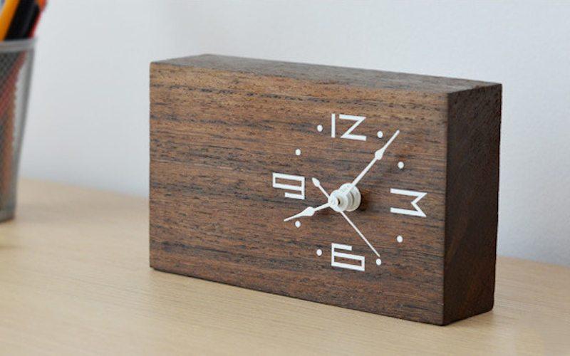 Contemporary Wooden Clock Designs