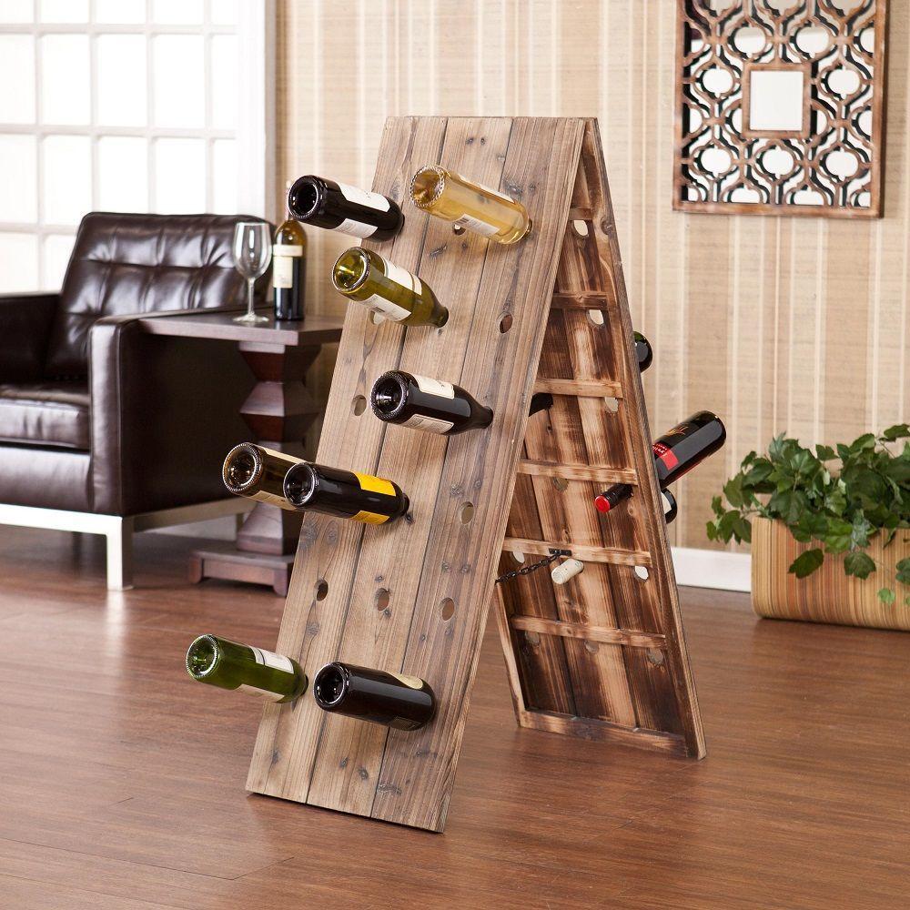 24-Bottle+Riddling+Rack+Wine+Holder