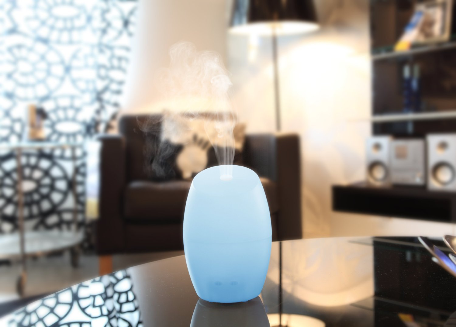 Aroma Vase Diffuser and Aromatherapy Air Purifier
