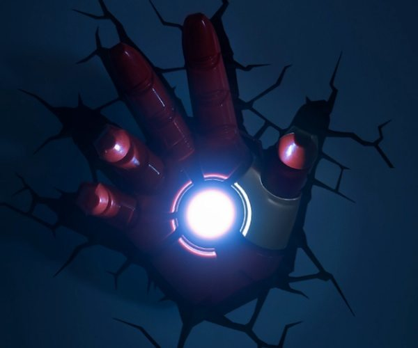 Avengers Iron Man Hand 3D Wall Art Nightlight