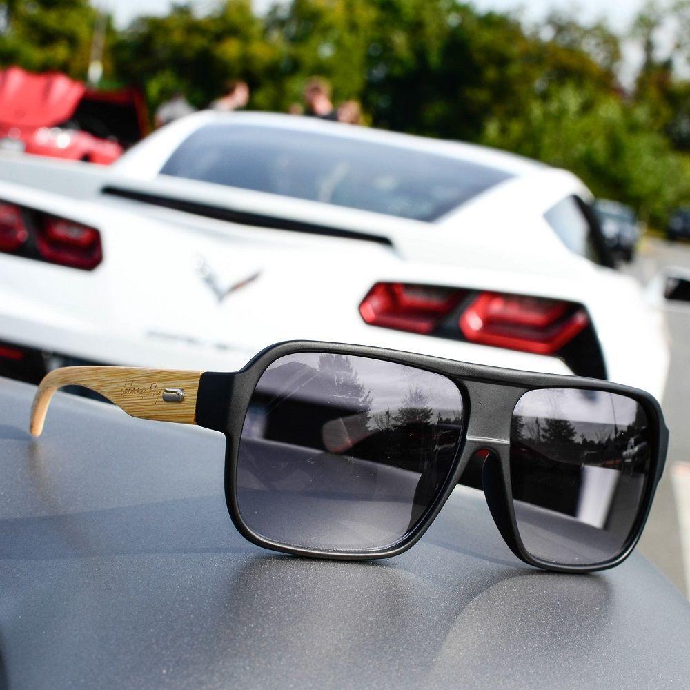 Bombers Polarized Bamboo Sunglasses by Johnny Fly