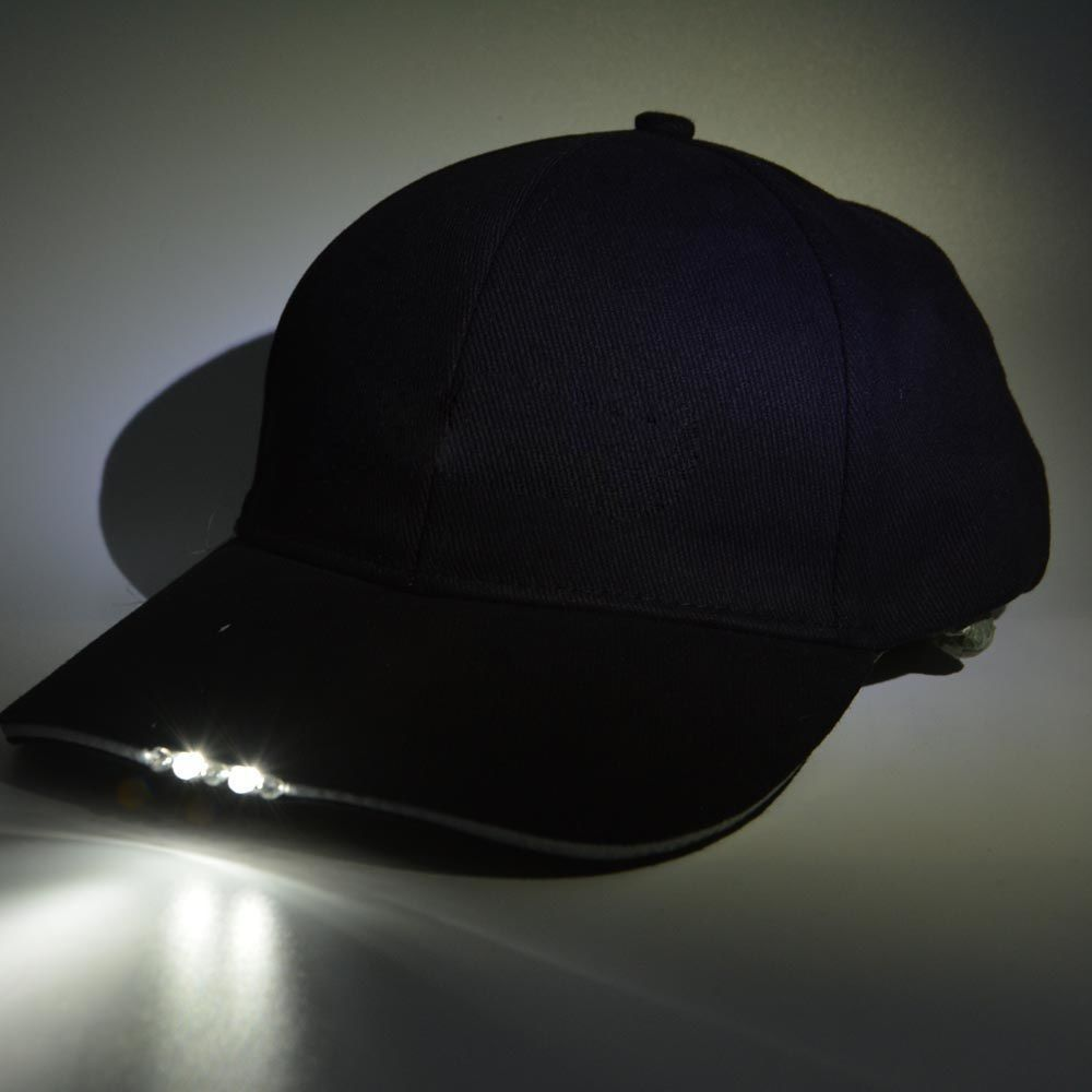 BrimLit LED Hat Clip-On Light