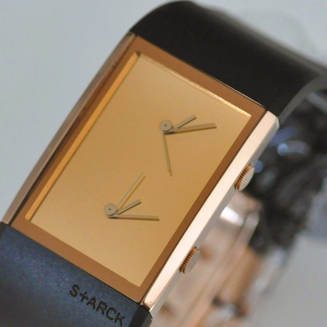 dual time watch by philippe starck review the gadget flow. Black Bedroom Furniture Sets. Home Design Ideas