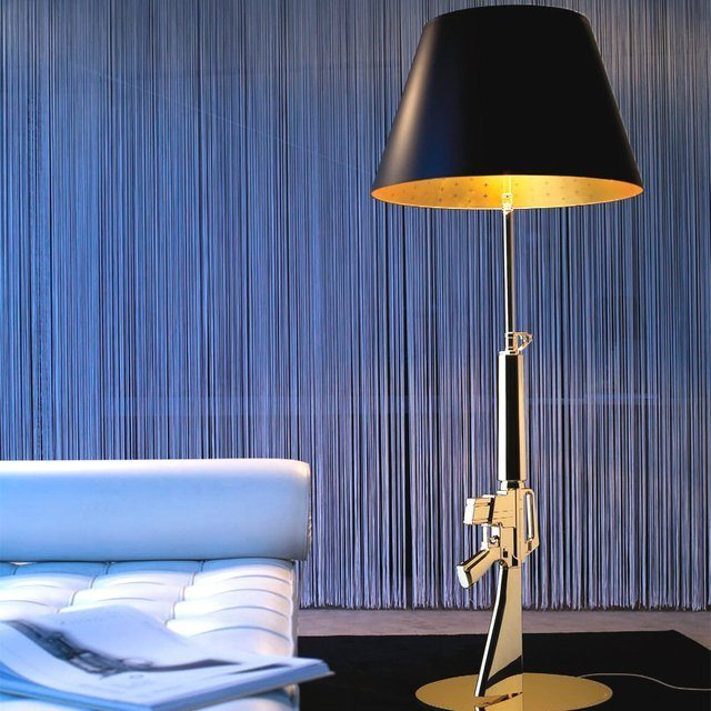 Guns Lounge Floor Lamp