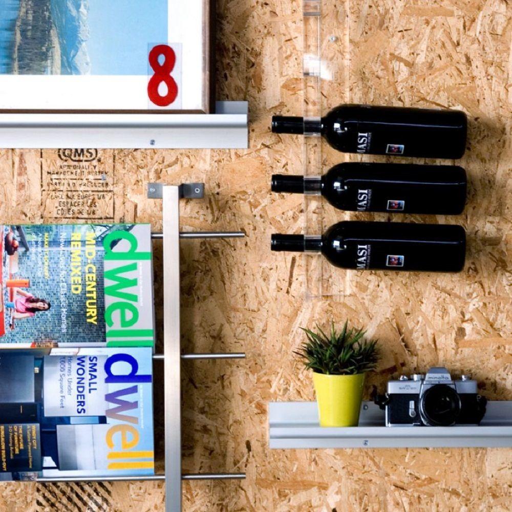 Gus Modern Acrylic Wine Rack
