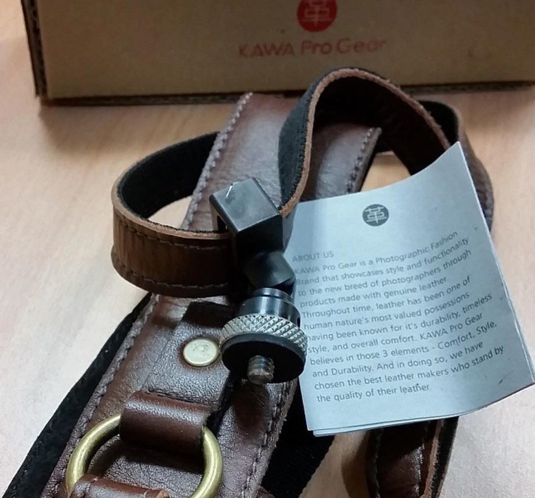 KAWA Pro Leather Camera Strap