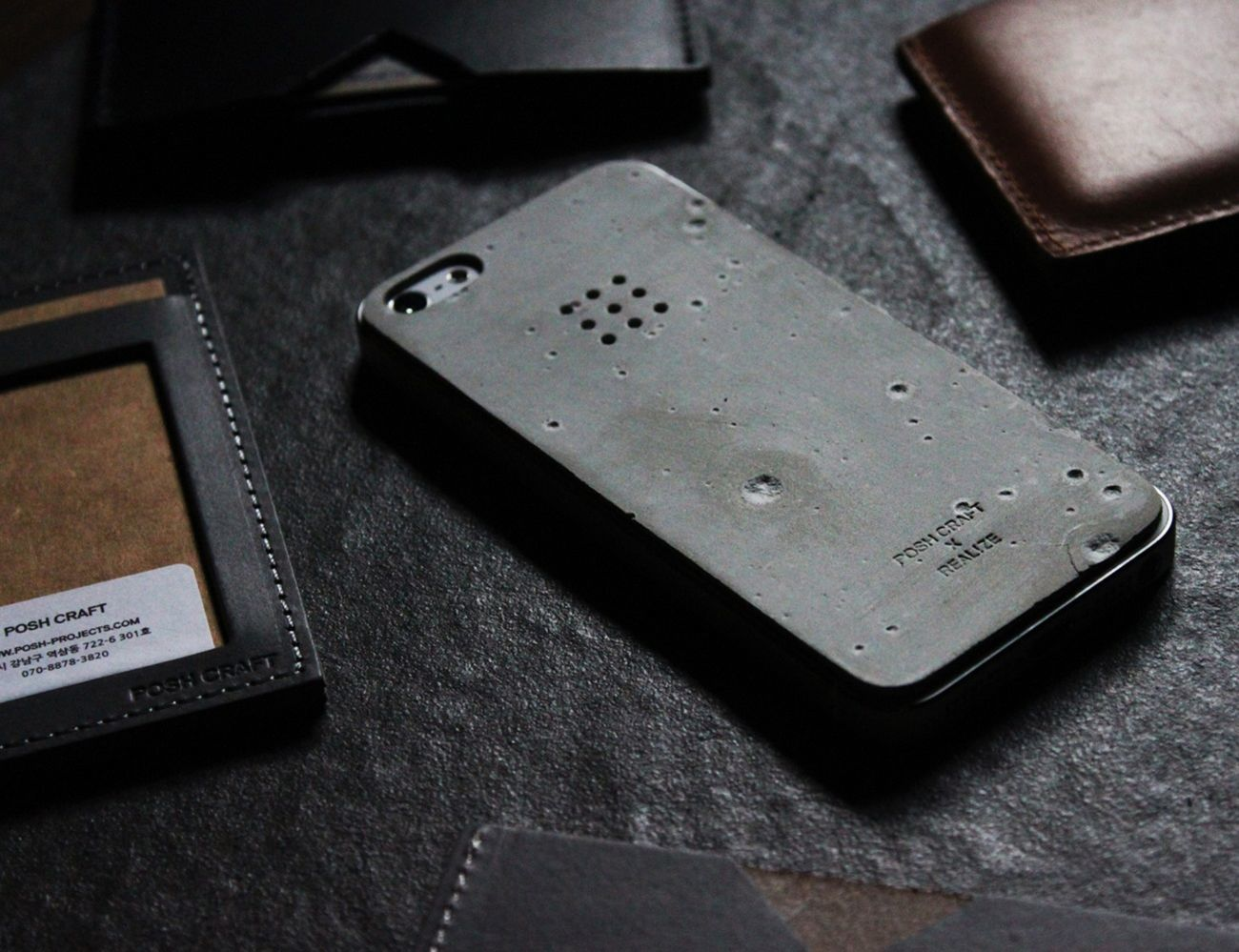 Luna Concrete iPhone SE/5s Skin