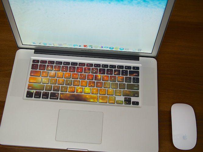 Nebula Keyboard Decals for MacBook