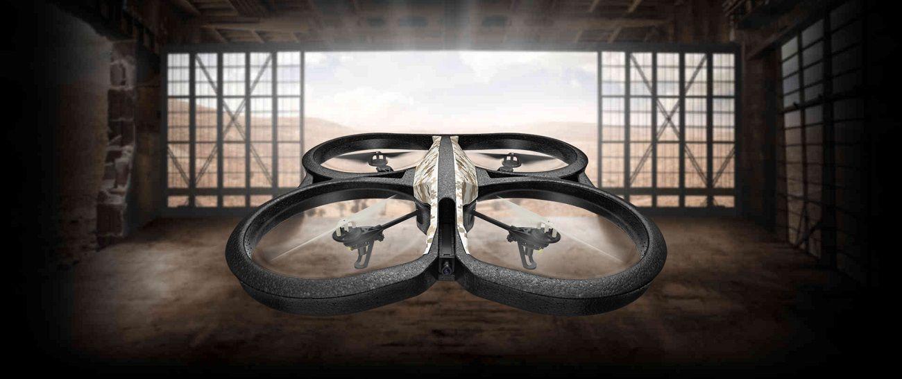 Parrot AR.Drone 2.0 Quadricopter – Elite Edition