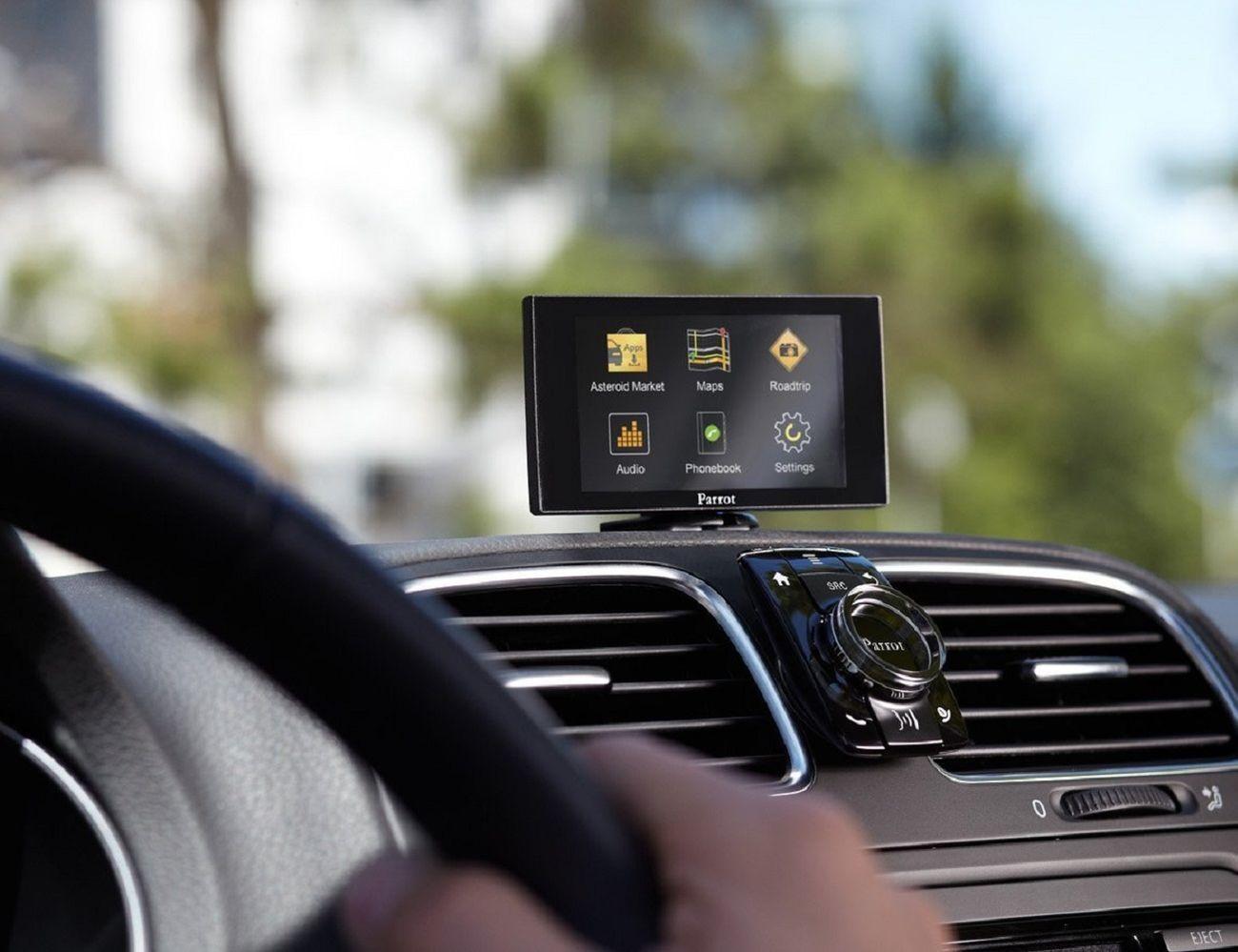 Parrot Asteroid Mini Vehicle Multimedia System