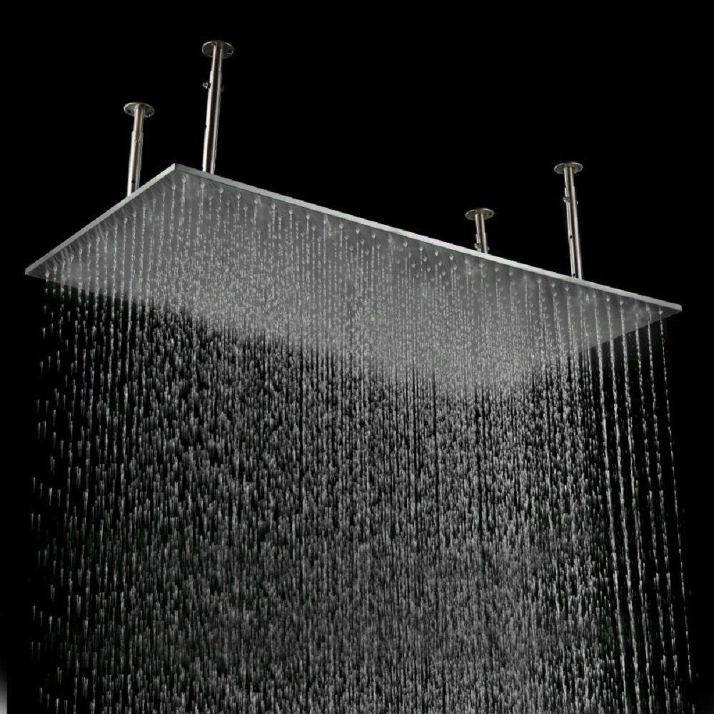 Rainfall LED Shower Head