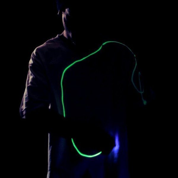 Rewritable Glow T-Shirt From Glow Threads