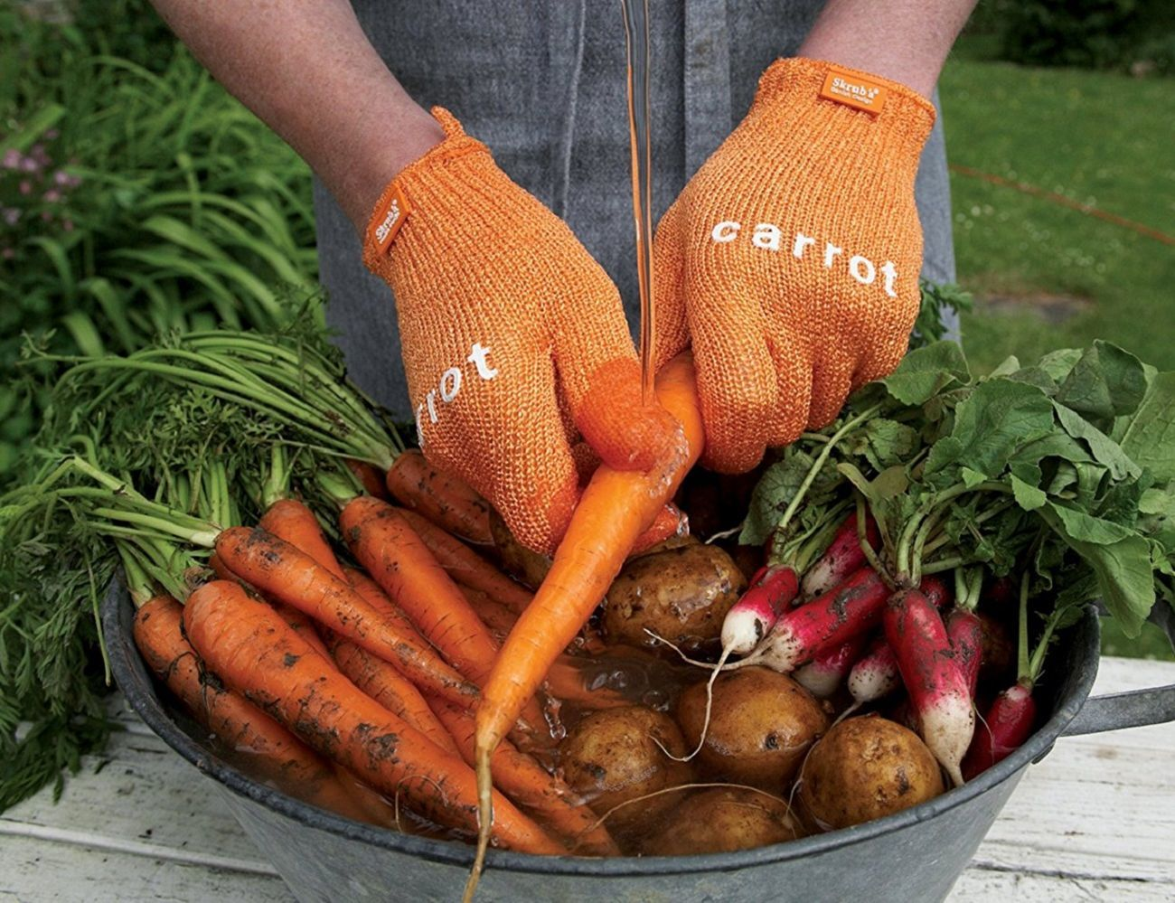 Skrub'a Veggie Gloves
