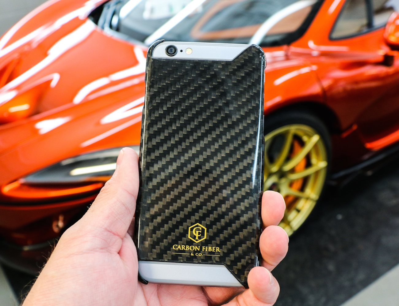 Carbon Fiber iPhone 6 Case by Carbon Fiber & Co.