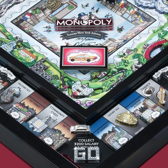 3D Monopoly New York Limited Edition
