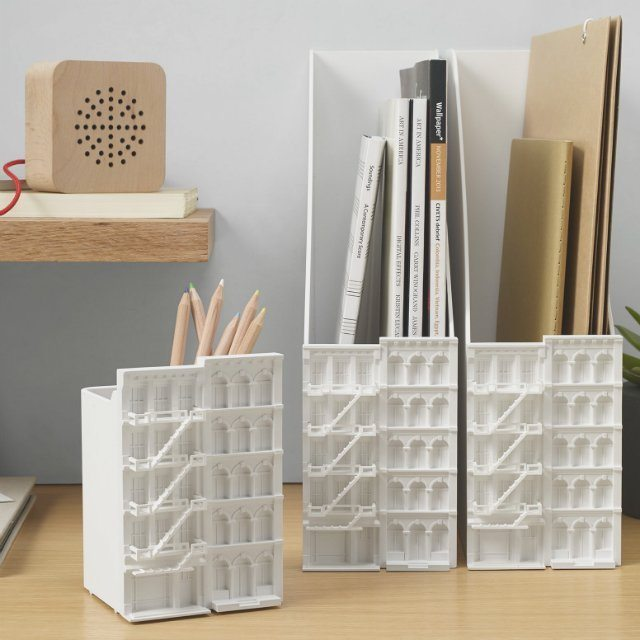 Architectural Desk Tidy