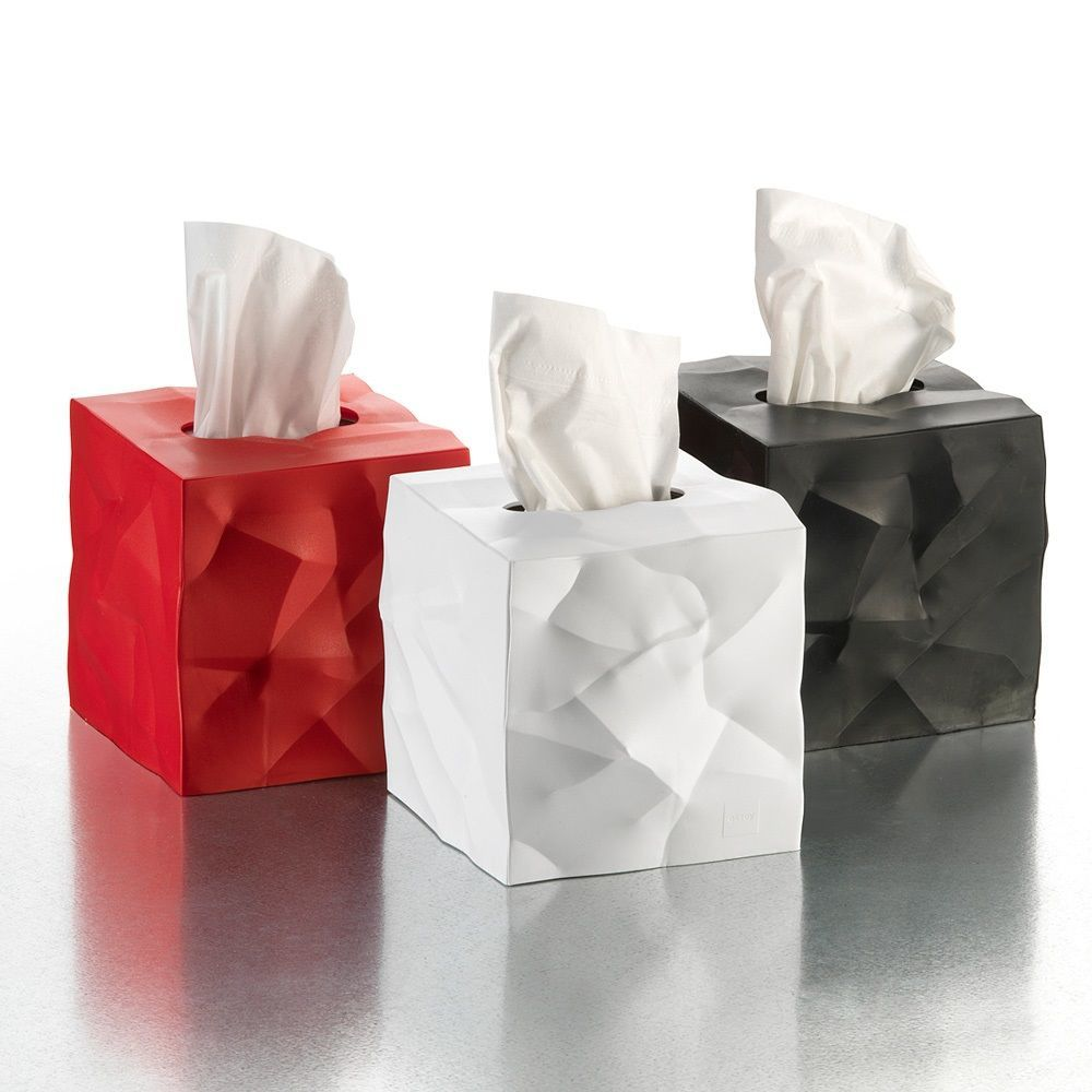 Crinkle Tissue Box Cover Gadget Flow