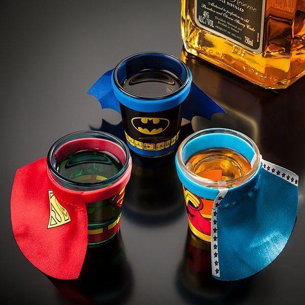 DC+Comics+Caped+Shot+Glass