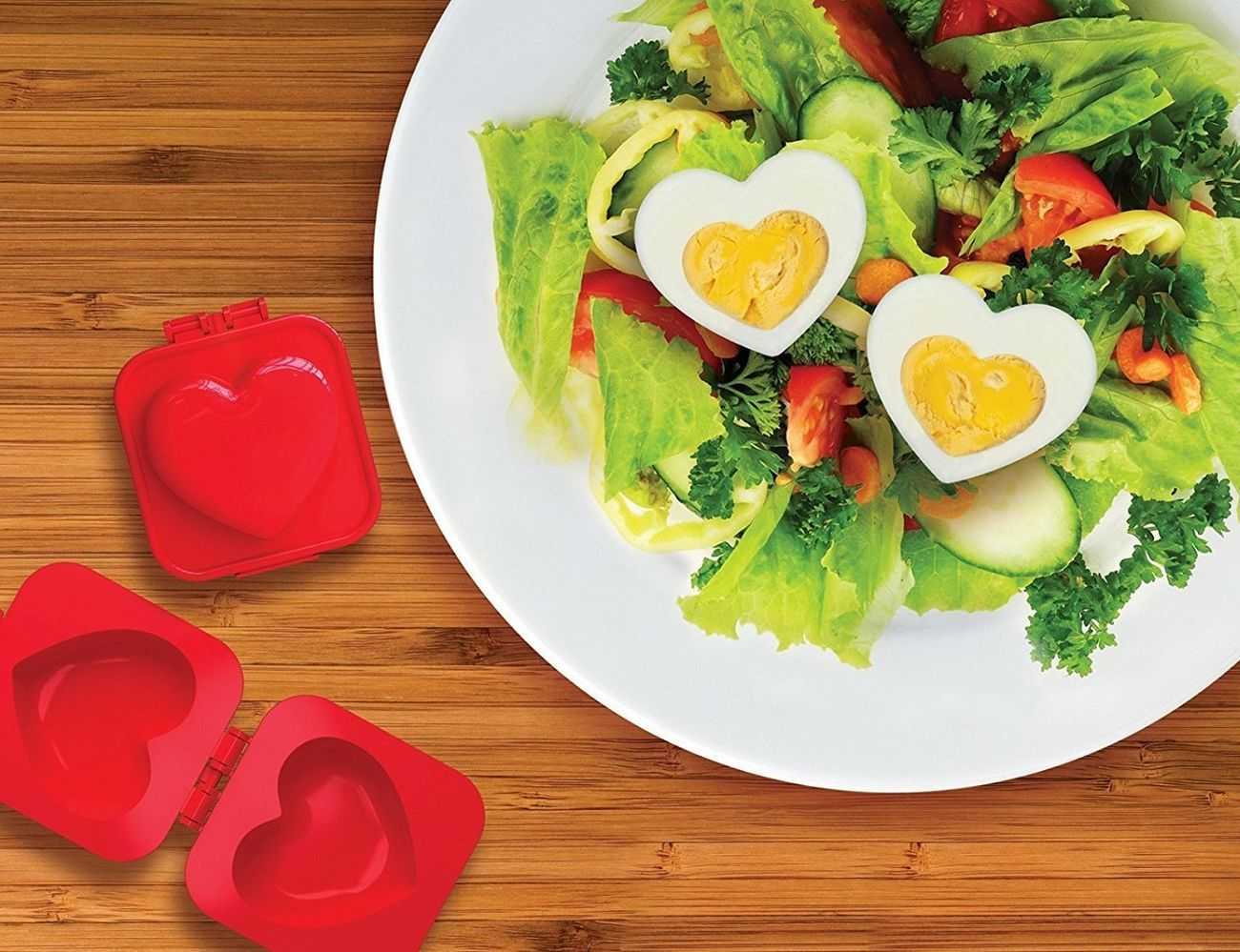 Eggspress Heart-Shaped Boiled Egg Mould