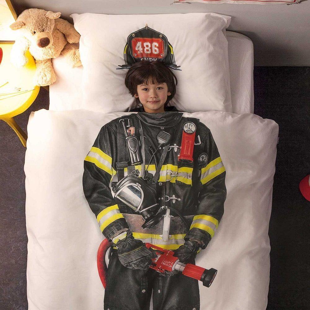 Firefighter Duvet Cover Set From Snurk