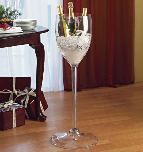 Giant Wine Stem Cooler Gadget Flow