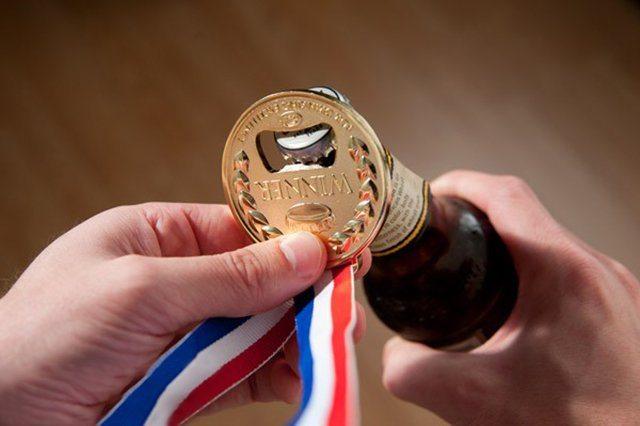 Gold Medal Bottle Opener
