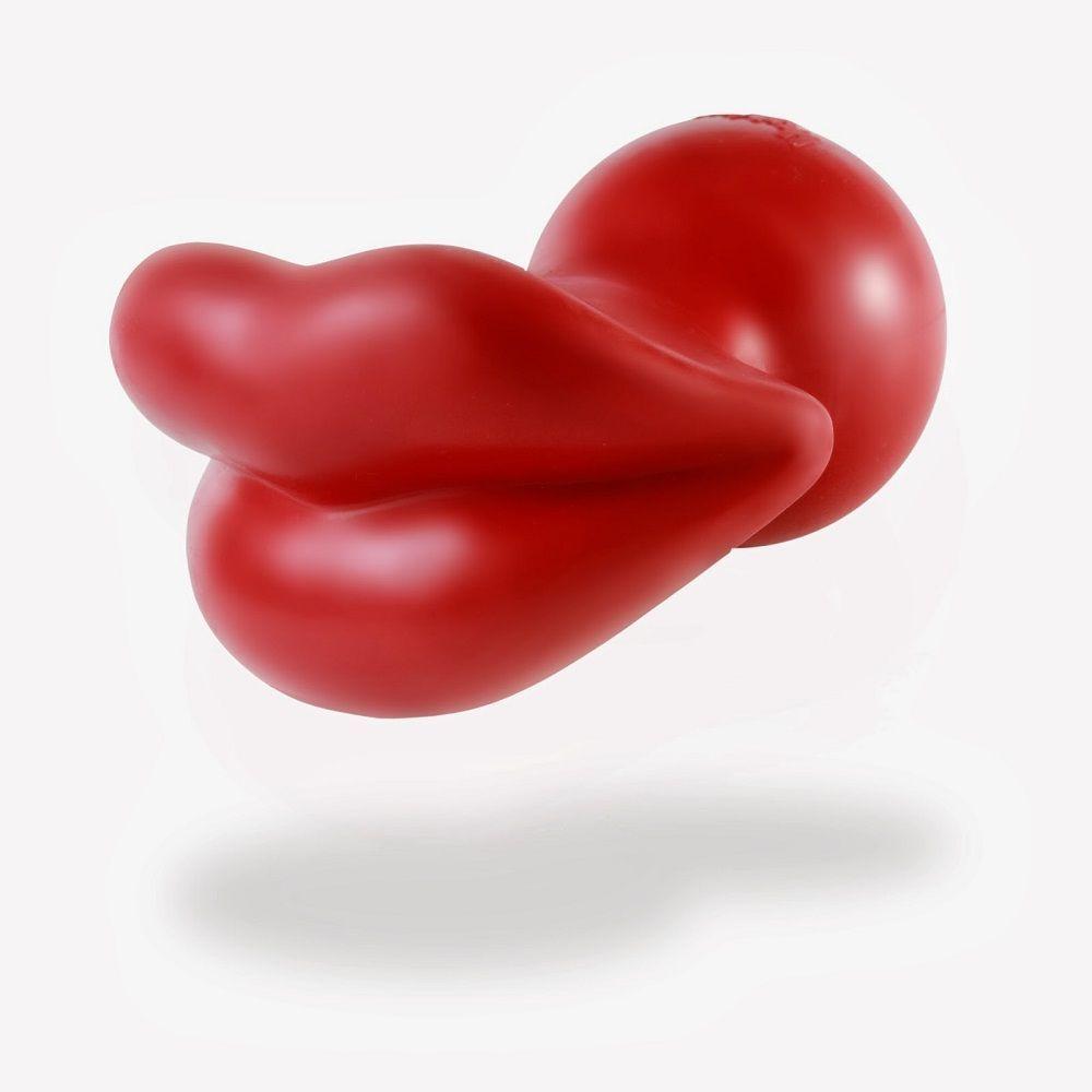 Humunga Lips Rubber Dog Toy