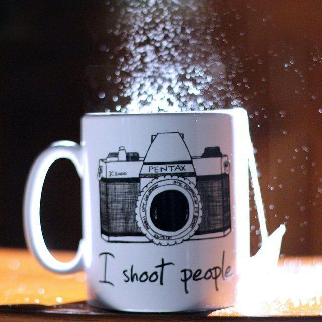 I Shoot People Novelty Mug