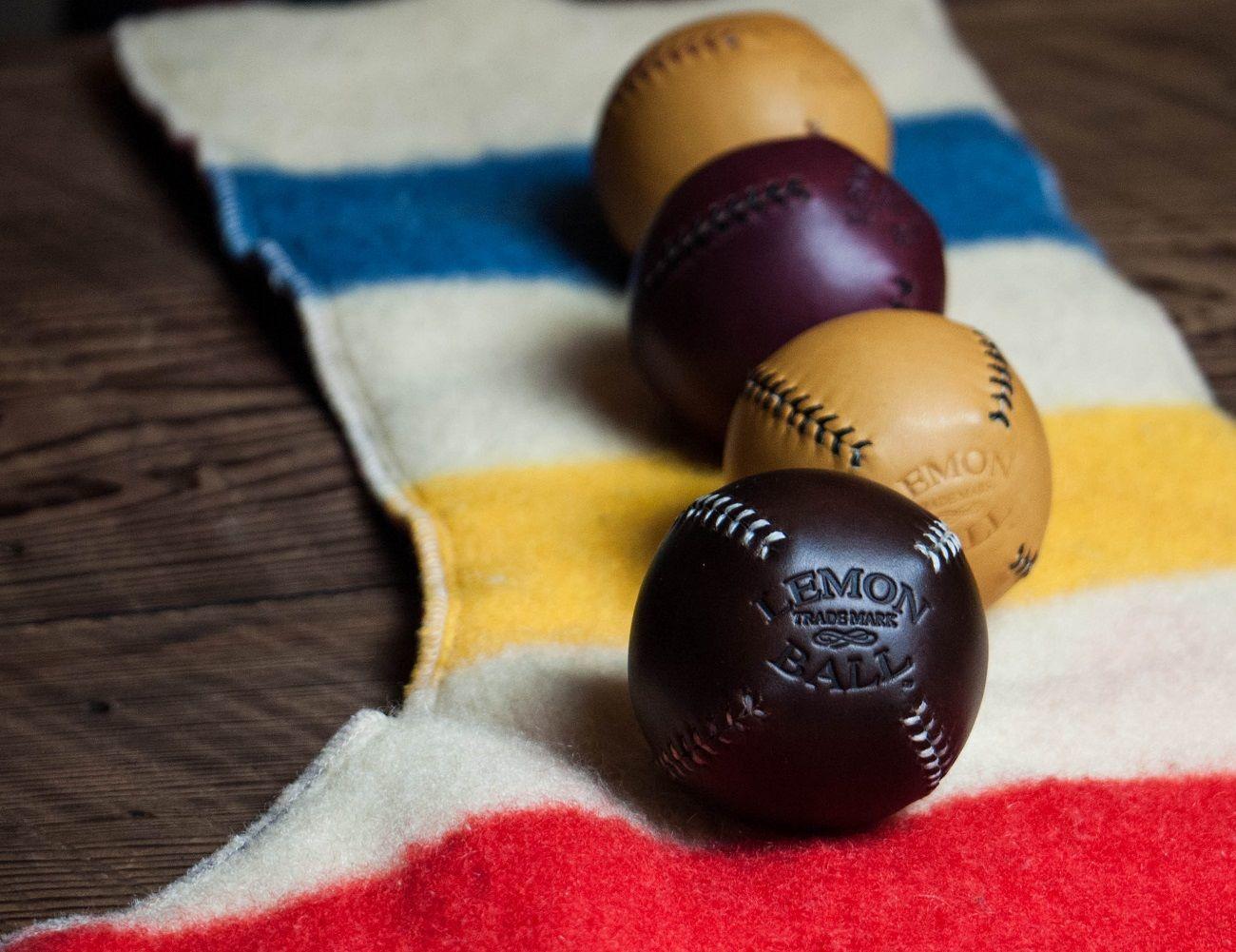 Lemon Ball Baseball