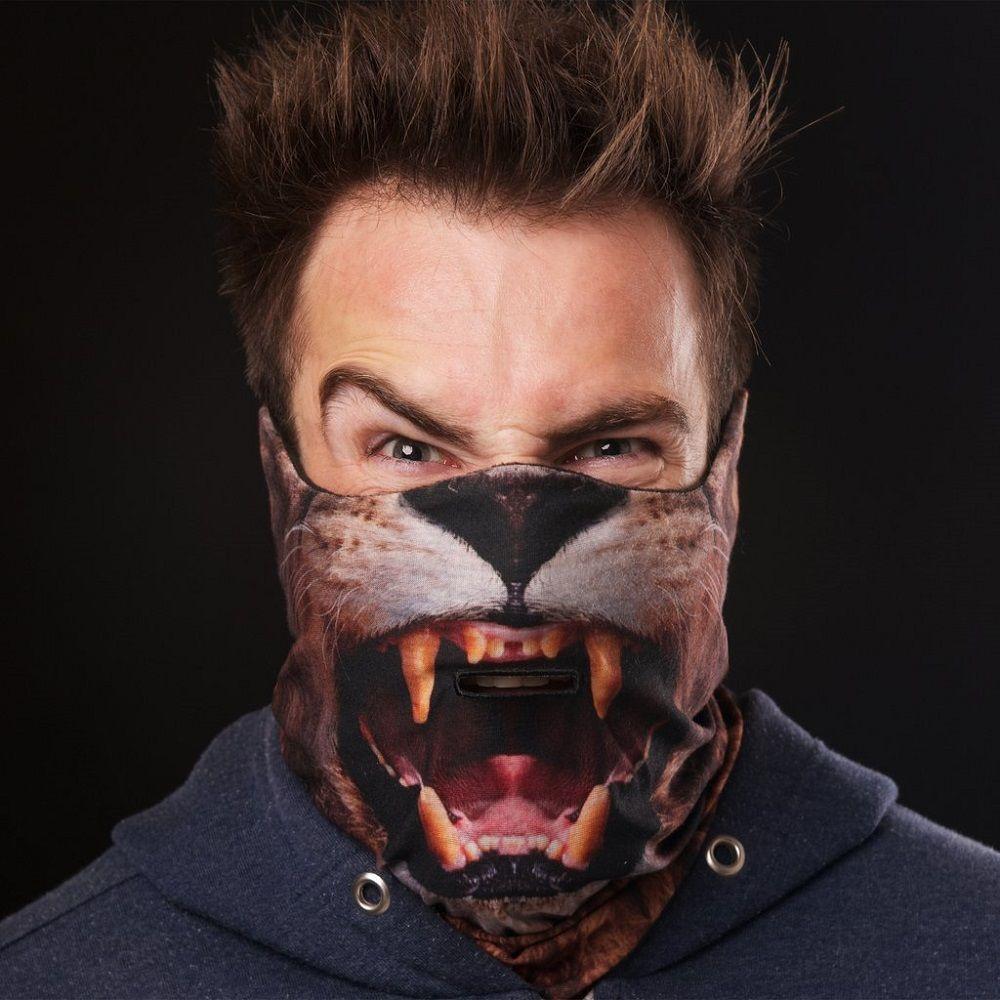 Lion Ski Mask by Beardo