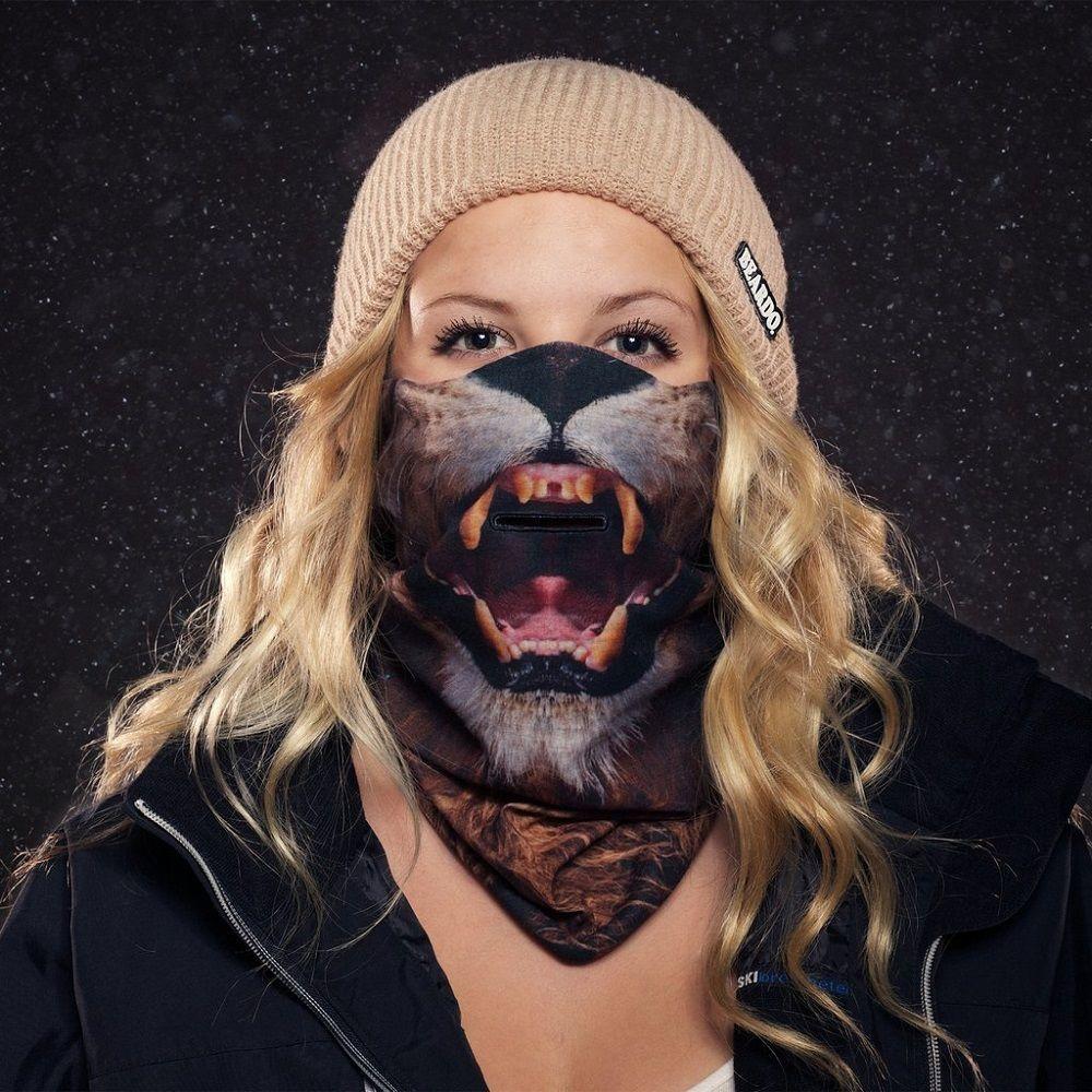 Lion Ski Mask by Beardo