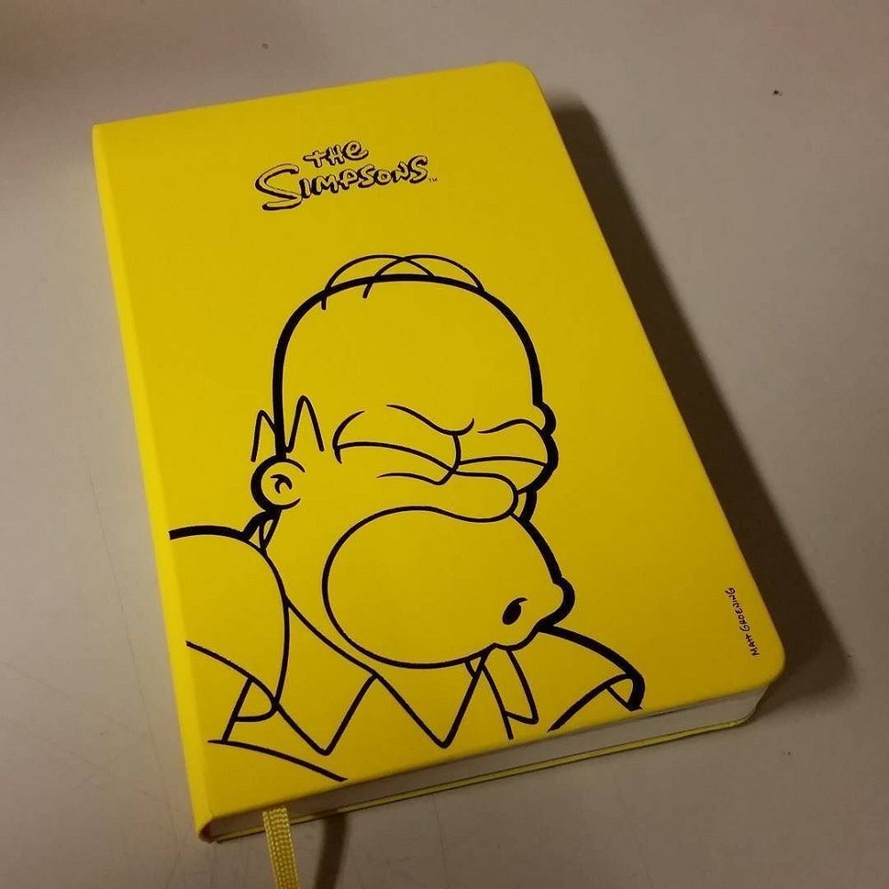 Moleskine The Simpsons Limited Edition Notebooks