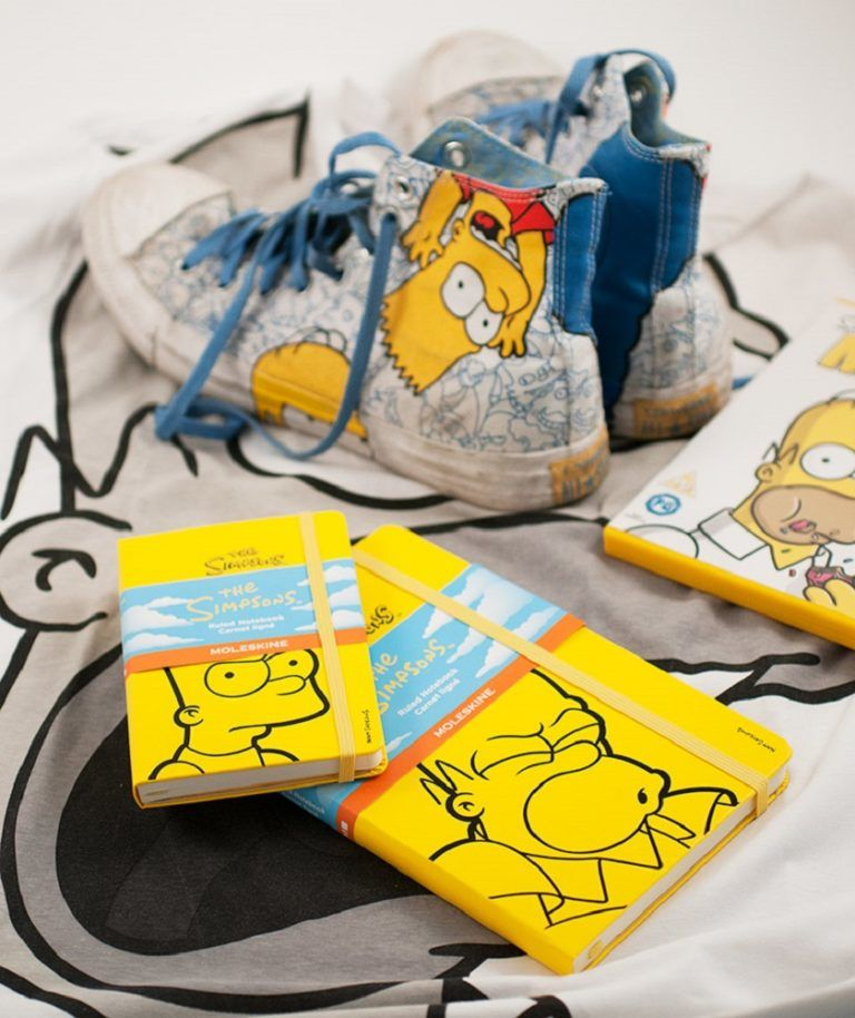 Moleskine+The+Simpsons+Limited+Edition+Notebooks