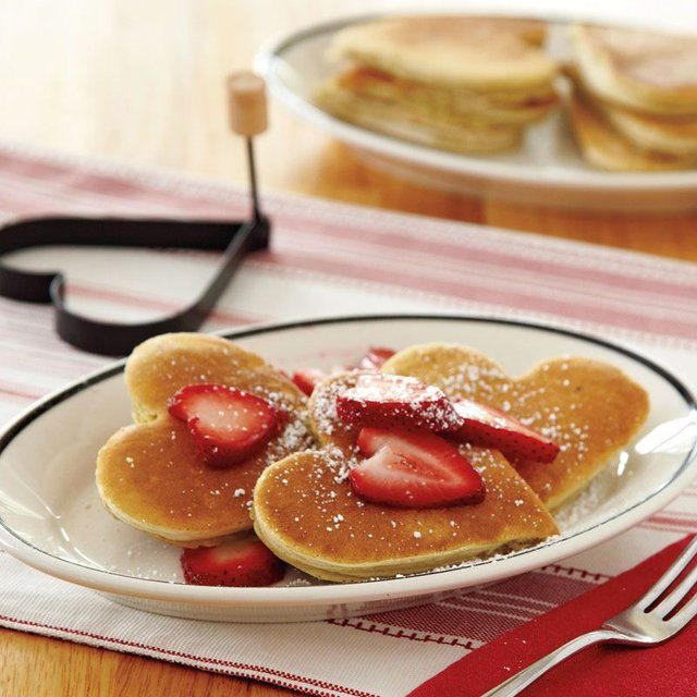 Nonstick Heart Pancake Egg Rings