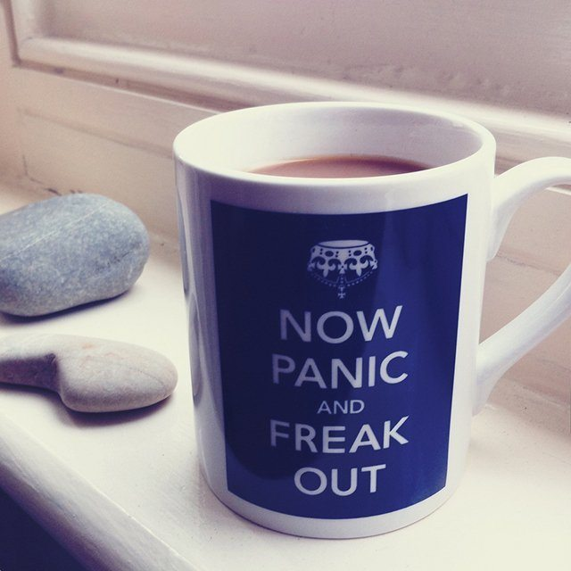 Now Panic & Freak Out Mug