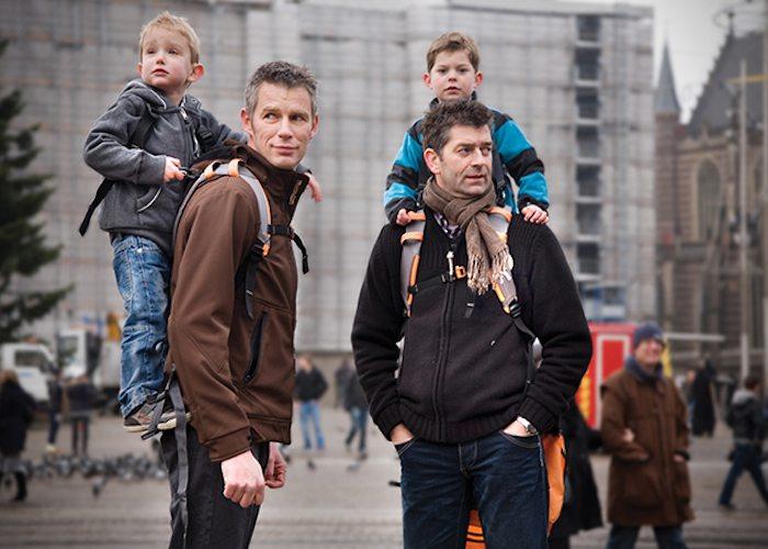 Piggyback Rider Standing Child Carrier