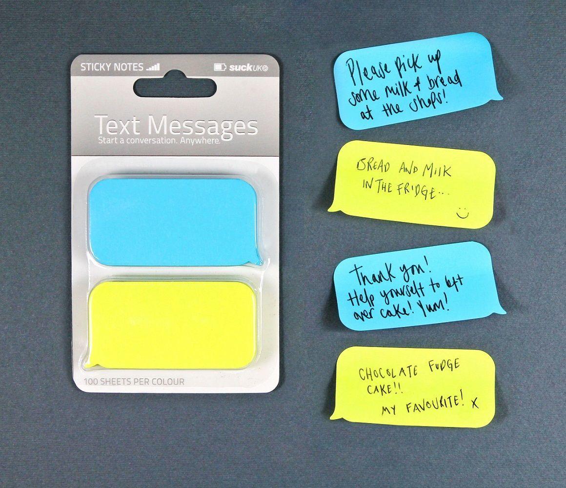 SMS Sticky Notes