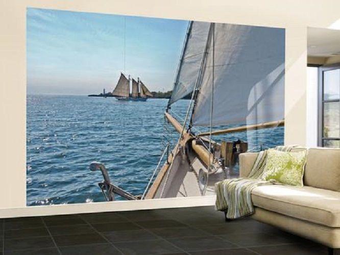 Sailing Wall Mural