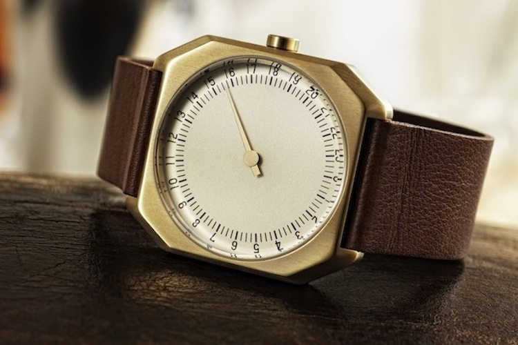 Slow+Jo+24-Hour+One+Hand+Watch