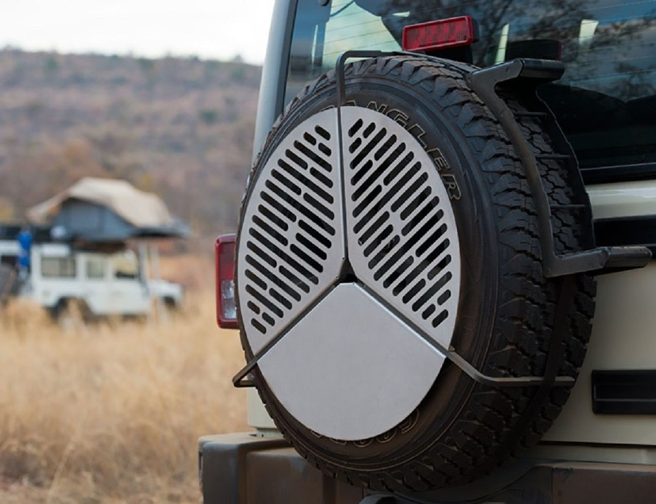 Spare+Tire+BBQ+Grate