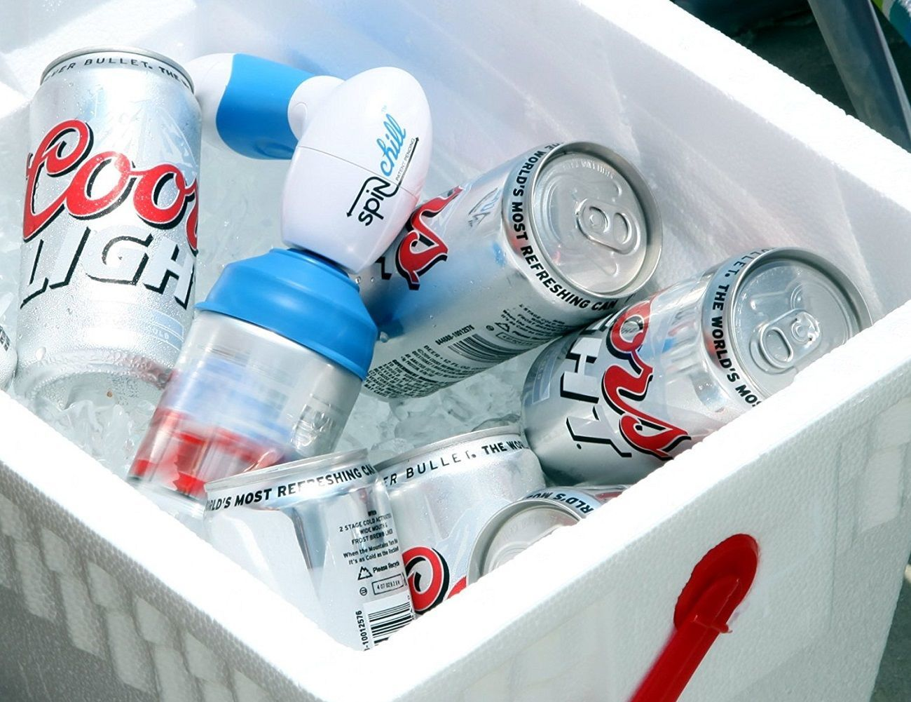 Spin Chill Portable Beer Cooler