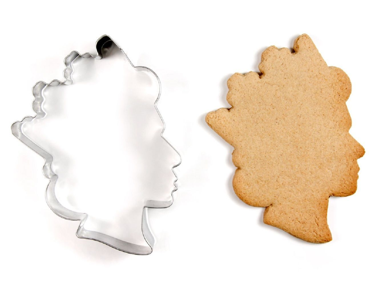 Tea with the Queen Cookie Cutter loading=