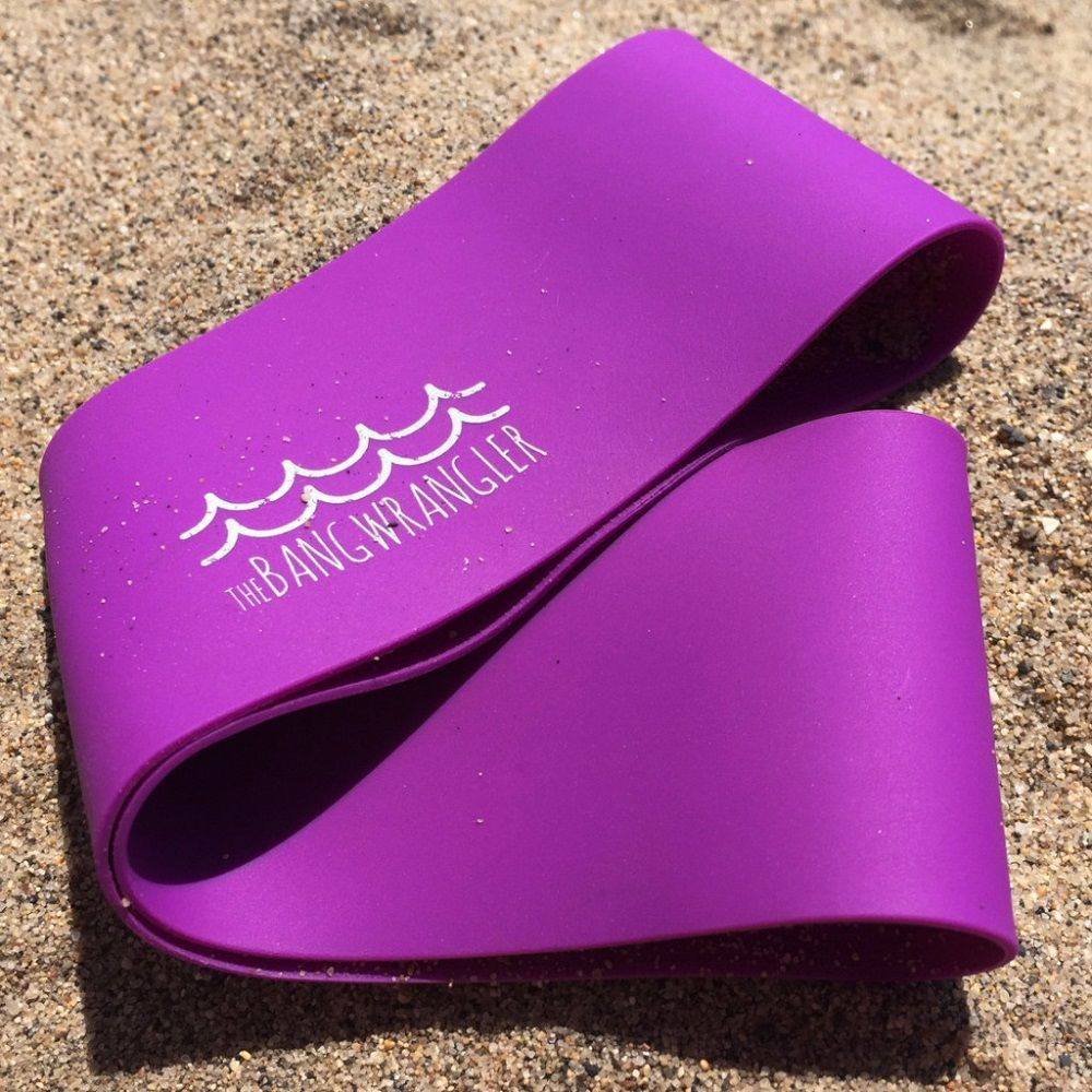 The Bang Wrangler – A Soft, Stretchy Silicone Headband