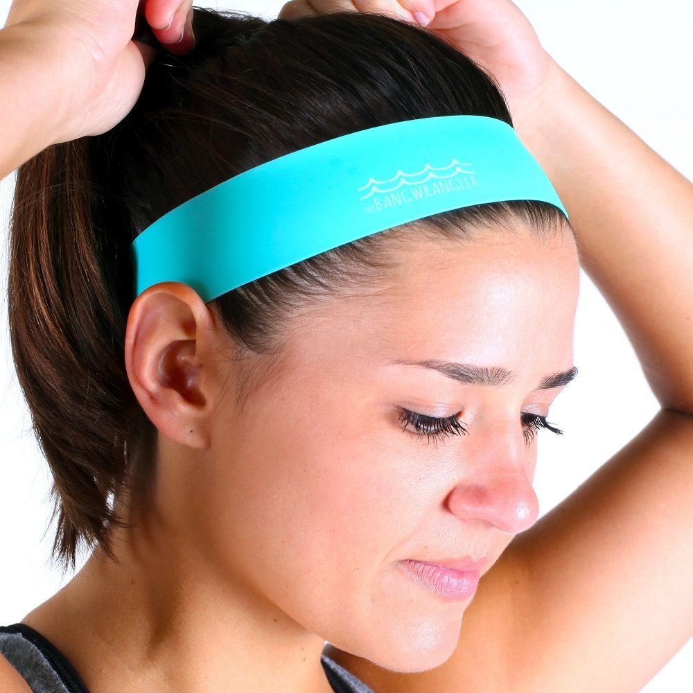 The Bang Wrangler – A Soft, Stretchy Silicone Headband