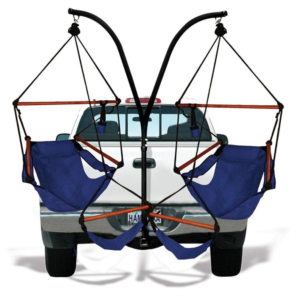 Trailer Hitch Stand and Hammaka Chair Combo