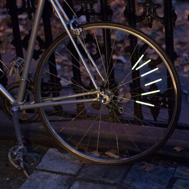 Bike Spoke Reflector