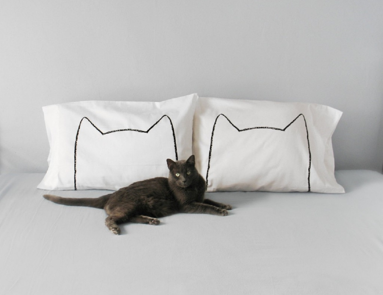 Cat Nap Pillowcase Set