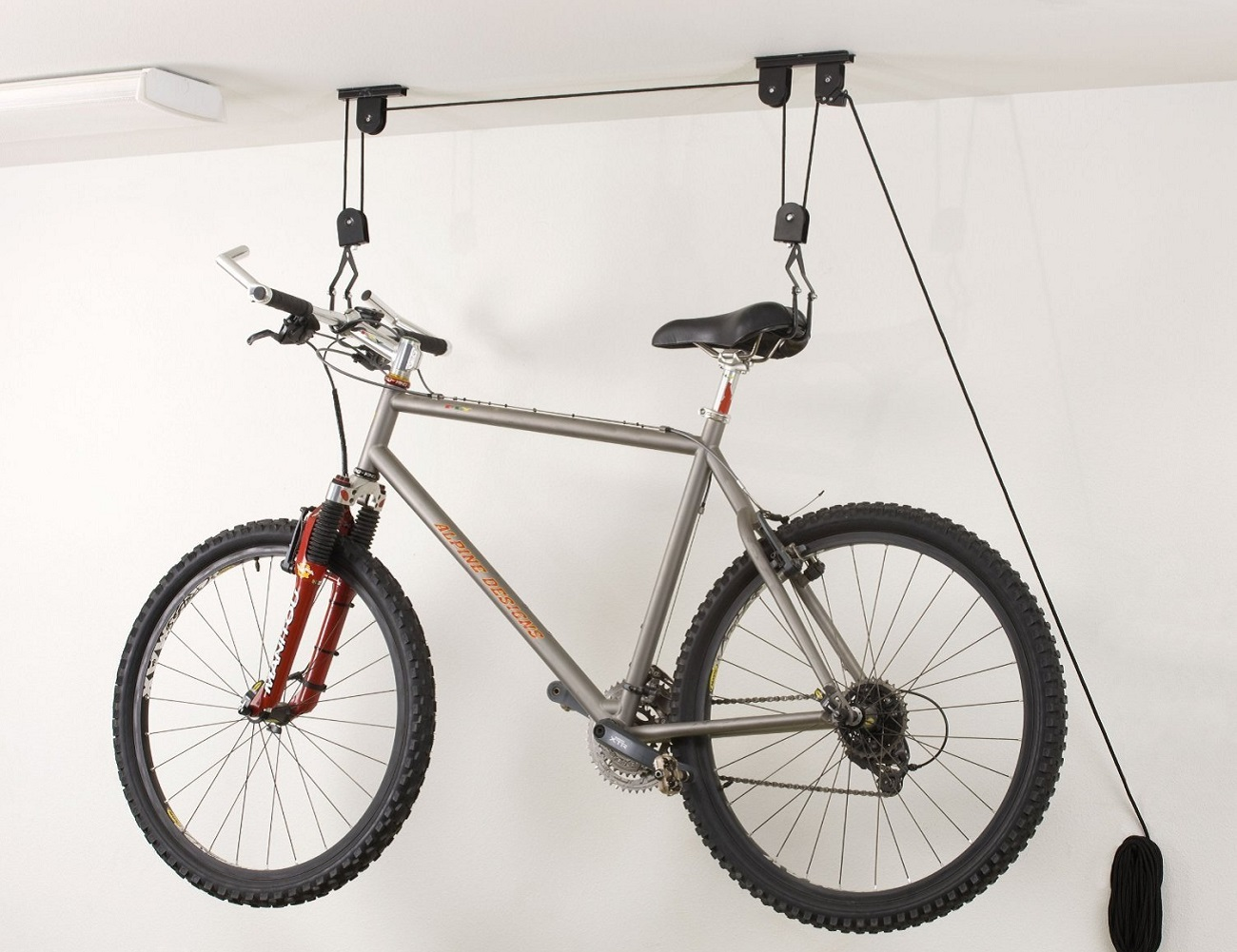 Ceiling-Mounted Bike Lift