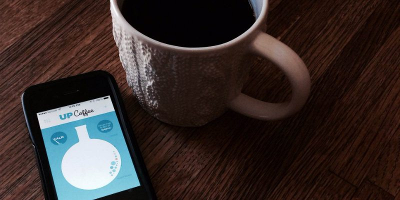 Jawbone's UP Coffee App