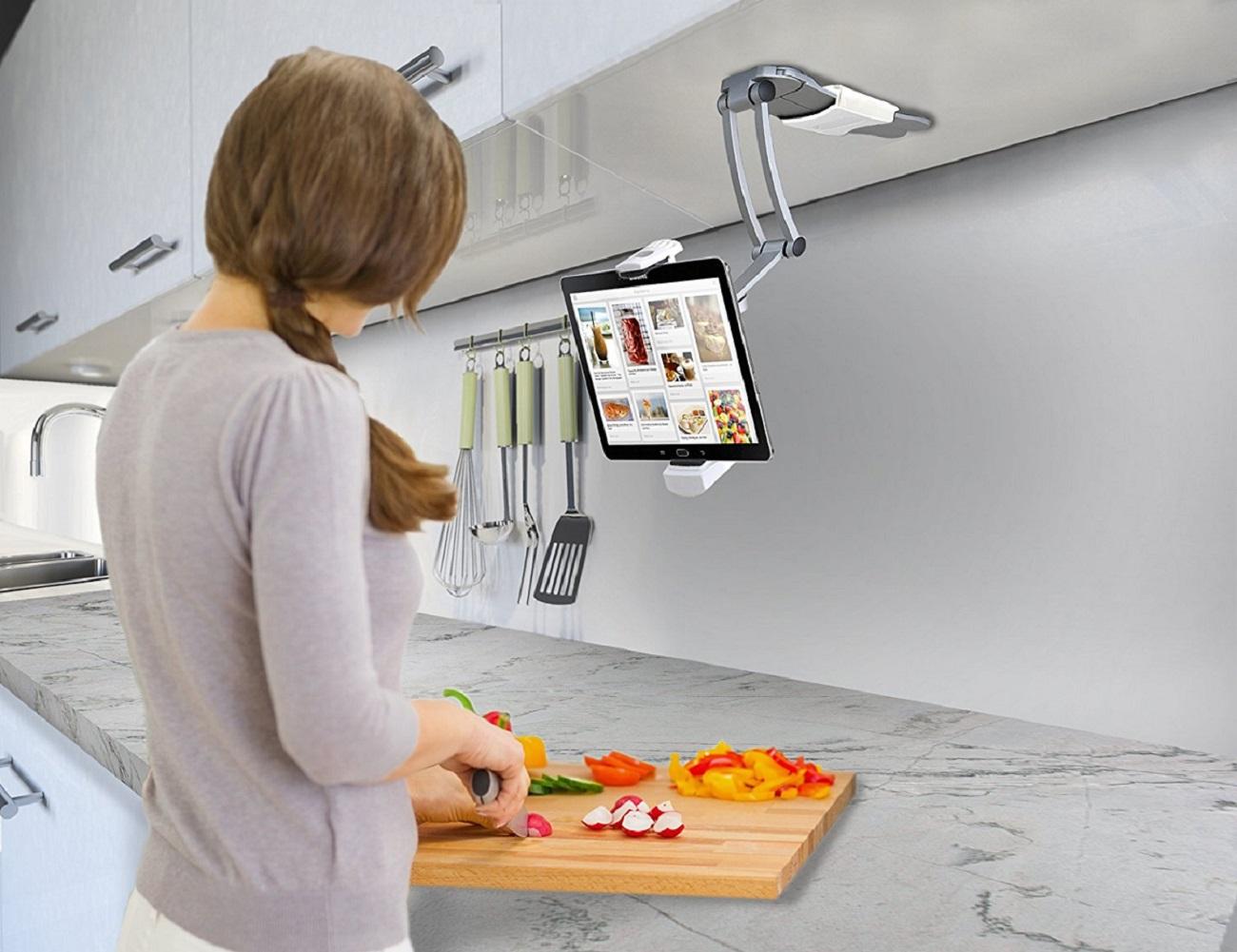 Digital 2-In-1 Kitchen Mount Stand